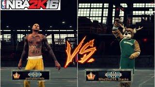 getlinkyoutube.com-NBA 2K16| Prettyboyfredo VS Legend 3 Mascot! HE GOT CLAMPED UP!!!!! 3v3 MyPark Gameplay