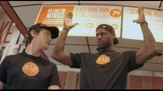 Lebron James Pranks Pizza Customers