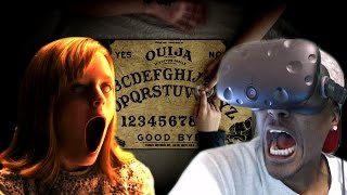 getlinkyoutube.com-THE DEVIL IS HERE | Ouija 2: Origin of Evil - VR 360 HTC Vive Reaction
