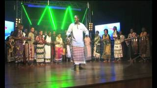 THE CHAMBER CHOIR OF KENYA performing a 'Giriama Folk Song' on THE KWAYA width=