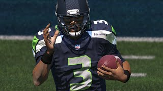 RUSSELL WILSON KICK RETURN TOUCHDOWN! ALL SEAHAWKS SQUAD! Madden 15 Ultimate Team