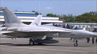 getlinkyoutube.com-FA-50 Philippine Air Force Takeoff and Landing in Clark Airfield
