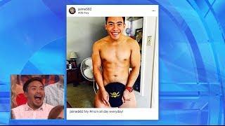 Ellen Scrolls Through Fans' Instagram Accounts