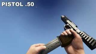 getlinkyoutube.com-GTA V PC ALL WEAPONS IN SLOW MOTION FPP, 60 FPS  [PC, MAX DETAILS, FULL HD, 60 FPS]