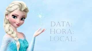 getlinkyoutube.com-Projeto convite virtual da Frozen