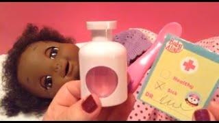 getlinkyoutube.com-Baby Alive Real Surprises Baby Doll is Sick