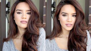 getlinkyoutube.com-Victorias Secret Hair Tutorial (With Velcro Rollers)