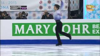 getlinkyoutube.com-(英・中・日字幕付き)Grand Prix Final 2014 SP - Yuzuru Hanyu [TDP - Spain EN/CH/JP Subtitled]