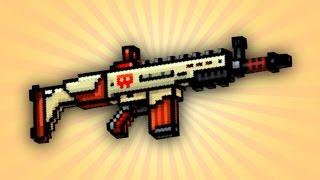 getlinkyoutube.com-Pixel Gun 3D - Ranger Rifle UP2 [Review]