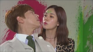 getlinkyoutube.com-[My daughter gumsawall] 내 딸, 금사월 - Yoon Hyun Min, Spray the walls with paint  20151003