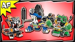 getlinkyoutube.com-Lego Mixels MAX Series 9: Trashoz, Nindjas, Newzers Stop Motion Build Review