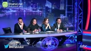 رغد الجابر اختبارها فيarab idol