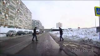 getlinkyoutube.com-An average day on russian streets!!