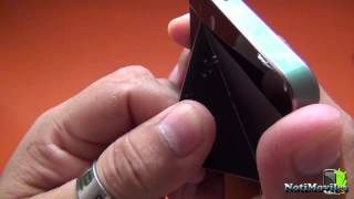 getlinkyoutube.com-Kiphone i5s Black EX Clon iPhone 5S Unboxing en Español
