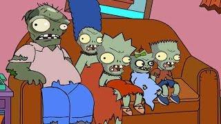 getlinkyoutube.com-Plants vs. Zombies - The Simpsons