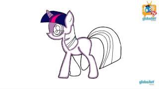 getlinkyoutube.com-วาดเองก็ได้ง่ายจัง ตอน ม้าโพนี่ (How to draw Little Pony)