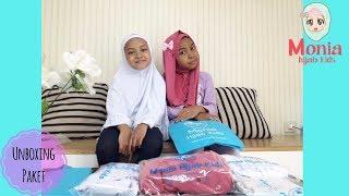Unboxing Paket ♥♥ Jilbab Anak Monia Hijab Kids