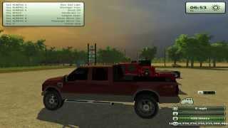 getlinkyoutube.com-Farming Simulator 2013 Mods- Ford F250 King ranch, GMC Welding Truck & more!