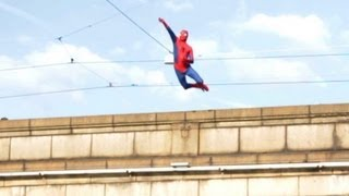 getlinkyoutube.com-Amazing Spiderman 2 (Epic Prank)
