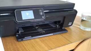 getlinkyoutube.com-How to fix a HP Printer, not printing black ink and missing colours 5510 5515 5520 5524 3070A 364