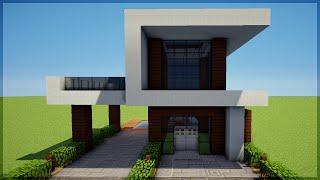 getlinkyoutube.com-Minecraft: Construindo uma Pequena Casa Moderna 5