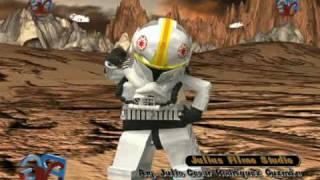 getlinkyoutube.com-Lego Star Wars the clon wars :Julius Film Studio (Dancing Atack 3D)