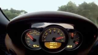 getlinkyoutube.com-Porsche Boxster S 986 - Brutal acceleration sound and top speed 282 KM/H !!! HD