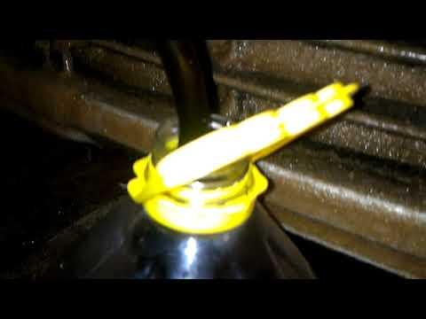 Где находится в Дачия Sandero щуп для проверки масла