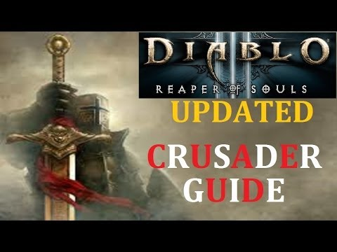 Diablo III RoS - Best Crusader Guide Over 1 Million DPS 16.5 Million Toughness