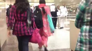 After landing inside The Tube Allama Iqbal International Airport Lahore Pakistan