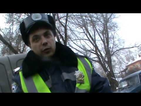 ДК Луганск, задерживает экипаж ГАИ с лысой резиной. Полная версия 3я часть