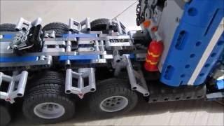 getlinkyoutube.com-lego technic MOC truck américain