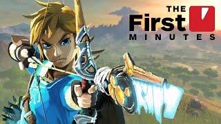 15 Minutes of Legend of Zelda: Breath of the Wild on Nintendo Switch