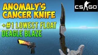 getlinkyoutube.com-CS GO Skins - Worst Knife Ever + #1 Float Deagle Blaze! (McSkillet Inventory Update)