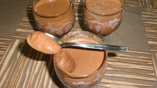 getlinkyoutube.com-Mousse Au Chocolat -  اسهل طريقة لعمل موس الشوكولاتة