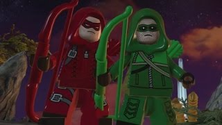 getlinkyoutube.com-LEGO Batman 3 - Arrow DLC Pack (All Characters & Free Roam Gameplay)