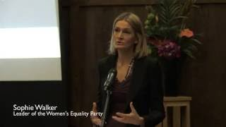 IBP Communication & PR Awards 2016 - Intro: Sophie Walker, Women's Equality Party