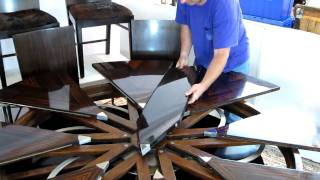 getlinkyoutube.com-Theodore Alexander Robert Jupe expansion table in action for auction