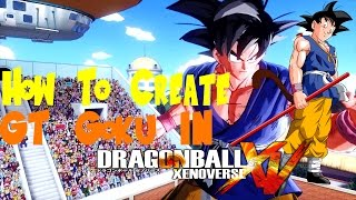getlinkyoutube.com-How To Create Adult GT Goku In Dragon Ball Xenoverse With Gameplay