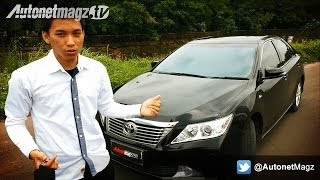 getlinkyoutube.com-[PART 1] Review Toyota Camry G 2.5 AT Indonesia Test Drive by AutonetMagz