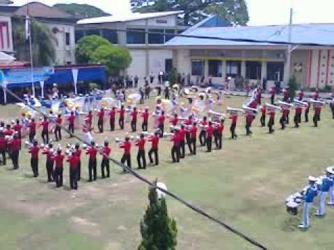 Drumband pusdik transjaya BP2TD Poltran PKTJ Tegal Wisuda 2014