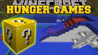 getlinkyoutube.com-Minecraft: WIPEOUT HUNGER GAMES - Lucky Block Mod - Modded Mini-Game