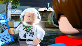 """getlinkyoutube.com-LEGO Dimensions A Hill Valley Time Travel Adventure Level Pack Walkthrough """"Back to the Future"""""""