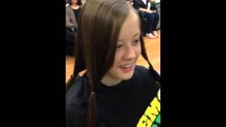 Me Donating 10 Inches of my Hair to Locks of Love
