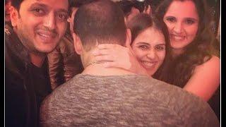 getlinkyoutube.com-Sania Mirza posted Salman Khan's funniest photo at his 50th Birthday