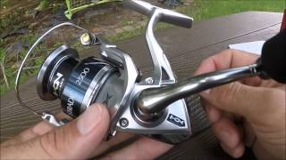 getlinkyoutube.com-The All New Shimano Stradic 2500 FK Spinning Reel Unboxing and Up Close Look - GoPro HD