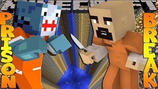 getlinkyoutube.com-Minecraft PRISON BREAK - SHARKY FINDS THE HIDDEN KNIFE!!