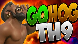 getlinkyoutube.com-3 STELLE CON GOHOG TH9 | Tutorial ITA | Clash of clans ITA