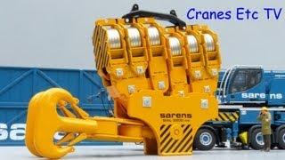 getlinkyoutube.com-WSI Sarens SGC-120 Ring Crane by Cranes Etc TV