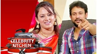 getlinkyoutube.com-Anchor Archana & Actor Deepak in Celebrity Kitchen (14/02/2015)